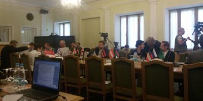 Международный круглый стол к дате 70-летия Нюрнбергского процесса