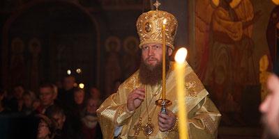 Поздравление с Пасхой Христовой от Епископа Саввы