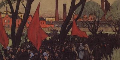 Во кремлевских во хоромах Ленин малый был не промах Он украл проказник, Первомайский праздник
